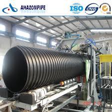good black hdpe corrugated drainage pipe