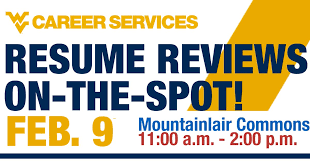 Wvu Career Services On Twitter Tomorrow Quick Easy On The Spot
