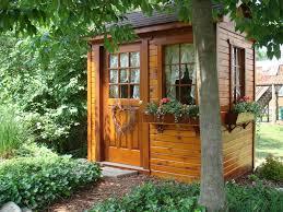 small potting garden shed small cedar backyard garden shed