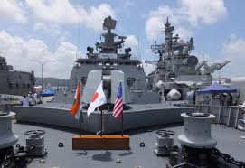 ins china india warships off japan show rising lure as china counterweight