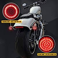 "<b>2</b>"" <b>Bullet</b> Style <b>1157 LED</b> Rear Turn Signal Kit Red Brake light ..."
