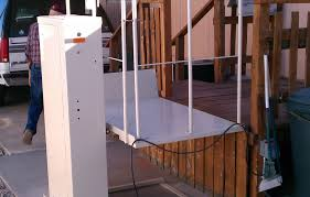 Porch Lifts Chermac Builders - Exterior wheelchair lifts