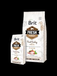<b>Brit Fresh Turkey</b> with Pea Adult Fit & Slim - Alaseel Qatar