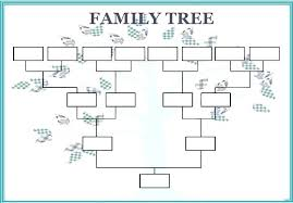 Family Tree Template Free Download Free Download Simple Family Template Format Tree Office