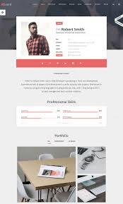 Personal Resume Website 100 Best WordPress Resume Themes For Your Personal Website 44