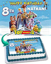 Amazoncom Toy Story 4 Cake Toppers Cake Cupcake Toppers
