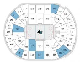 Sap Sharks Seating Chart San Jose Sharks Tickets 2017 Preferred Seats Access