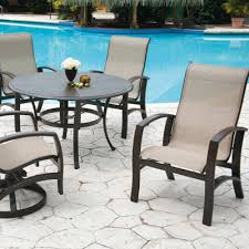 lovely pool patio furniture sling patio furniture and your pool the perfect couple