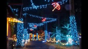 Silverton Oregon Garden Lights Christmas In The Garden 2015