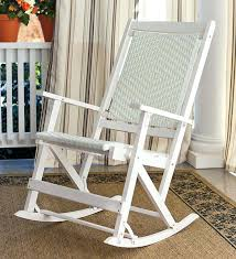 resin rocking chair image of resin wicker chairs white semco outdoor patio resin rocking chair