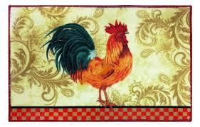 rooster rug for kitchen rooster kitchen rug