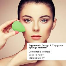 Flawless Cosmetic Design Amazon Com 6pcs Beauty Makeup Sponge Cosmetic Puff Smooth