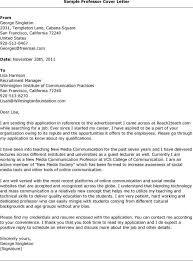 faculty application cover letter sample sample cover letter for faculty job granitestateartsmarket com
