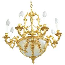 gold chandelier antique