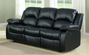 wonderful leather recliner couch bob classic bonded leather recliner sofa in black brown leather reclining couch