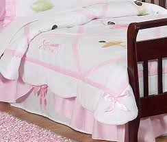 ballet r ballerina toddler bedding