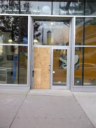 aluminum and glass entry doors broken front entry aluminum door due to burglary this commercial aluminum and glass entry doors