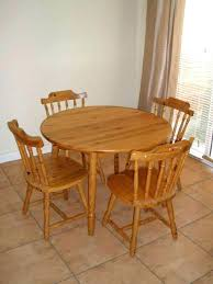 oak kitchen table set wooden and chairs classic dining room tip for sofa round wood tables