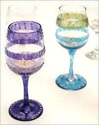 wine glass decorations for weddings wedding glasses decoration crystal wedding glasses pink color