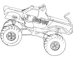 Monster Jam Coloring Pages Stunning Truck Colouring To Print 6