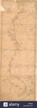 English Nautical Chart Of U S Coastal Waters From Casco