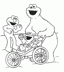 Small Picture Cookie Monster Printable Coloring Pages Coloring Home