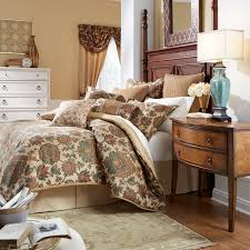 Master Bedroom Bedding Collections The Minka Bedding Collection Is A Traditional Multi Colored