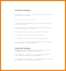 Voicemail Message Templates Messages Samples Out Of Office Printable