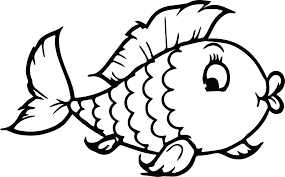 Small Fish Template Fish Coloring Template Small Fish Coloring Pages Picture Page Of A