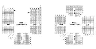 Alley Theatre Official Website Theatre Seating Charts