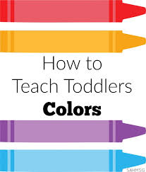 How to Teach Toddlers Colors   Toddler lesson plans, Learning and ...