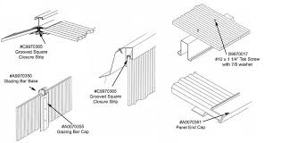 twin wall extrusions and accessories