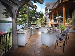 Outdoor Kitchens Optimizing An Outdoor Kitchen Layout Hgtv