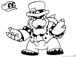 Mario Odyssey Coloringagesrintable Free Books Luigi And Toad