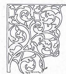 Vine Pattern Stunning Scroll Vine Saw Pattern Duvar Panoları Pinterest Patterns