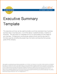 Financial Summary Template Sample Financial Summary Template Executive Doc 24 Rottenraw 14
