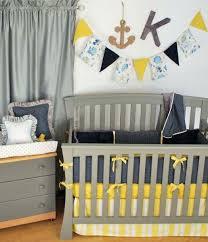 striped baby bedding navy blue striped crib bedding