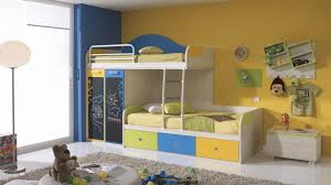breathtaking image of bedroom decoration using ikea bunk bed beauteous blue yellow kid bedroom decoration bedroombeauteous furniture bedroom ikea interior home