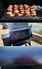 smoking en wings on pellet grill