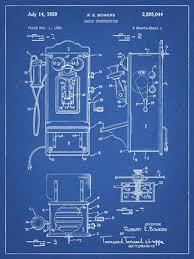 patent fine art print by cole borders