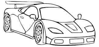 Awesome Car Colouring Pages Coloring Printable Police Home