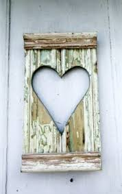wooden wall art hearts