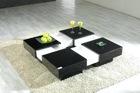 table decoration in living room coffee table solid wood modern design tokyo twist glass