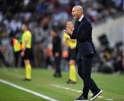 Resultado de imagen para zidane real madrid supercopa 2020