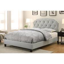 pri allin gray queen upholstered bedds  the home depot