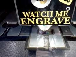Dog Tag Vending Machine Locations Enchanting Watch Me Engrave Walmart Dog Tag 48 My Dog Ace The Face YouTube