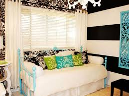 gallery ba nursery teen room furniture free. charming black white stripe and damask pattern wall decal teen girls room design with cyan painted gallery ba nursery furniture free l