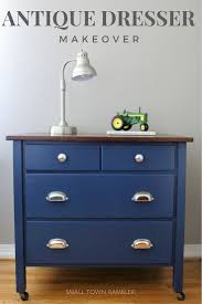 blue antique furniture. Blue Painted Furniture Layering Chalk Paint On Thirty Antique