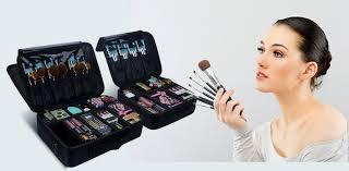 makeup artist cosmetics train case