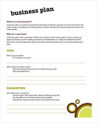 example of a business plan business plan template geocvc co